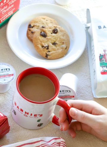 Enjoy the Holidays with Barnie's Santa's White Christmas Coffee