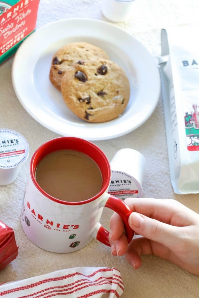 barnies coffee santas white christmas