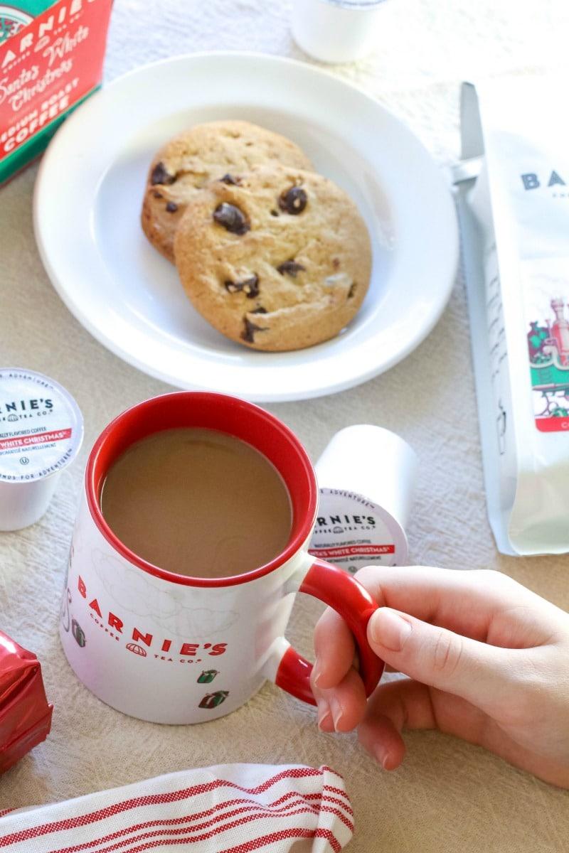 Enjoy the Holidays with Barnie\'s Santa\'s White Christmas Coffee- All ...