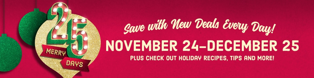 Save Big With 25 Merry Days at Kroger