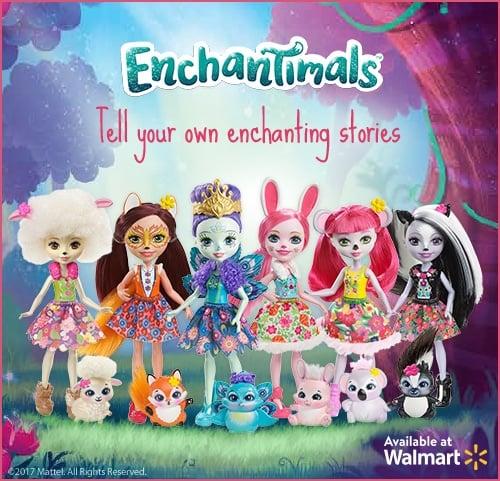 Meet The Mattel Enchantimals Toys This Holiday Season