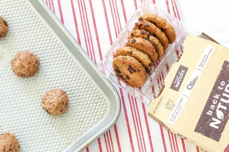 No-Bake Chocolate Chip Cookie Truffles