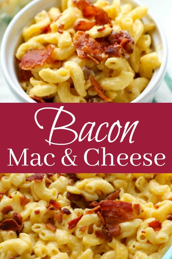 Creamy Bacon Mac & Cheese