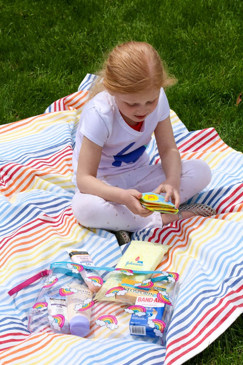 "Keep yourself organized and prepared by making your own ""Got Everything"" bag this summer and these 10 Must-Have Items for Traveling with Kids!"