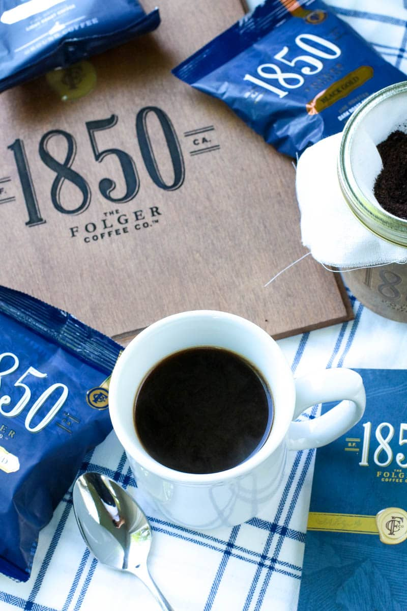 Start Your Day Off BOLD – NEW Folgers 1850 Brand Coffee