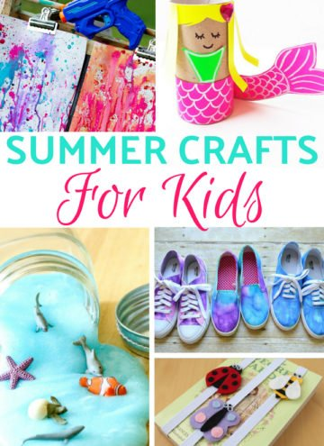 Kids Summer Crafts To Pass The Time and Have A Blast