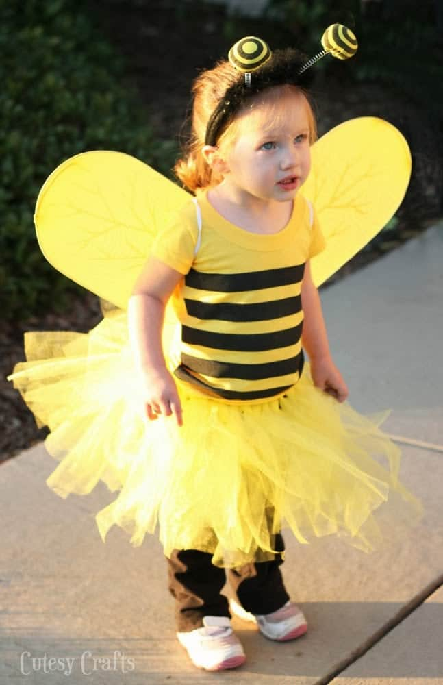 Halloween Costume for Kids -Bee Costume  sc 1 st  All Things Mamma & 23 Easy Halloween Costumes for Kids - All Things Mamma
