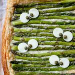 Halloween Guide - Monster Eye Asparagus Gruyere Tart