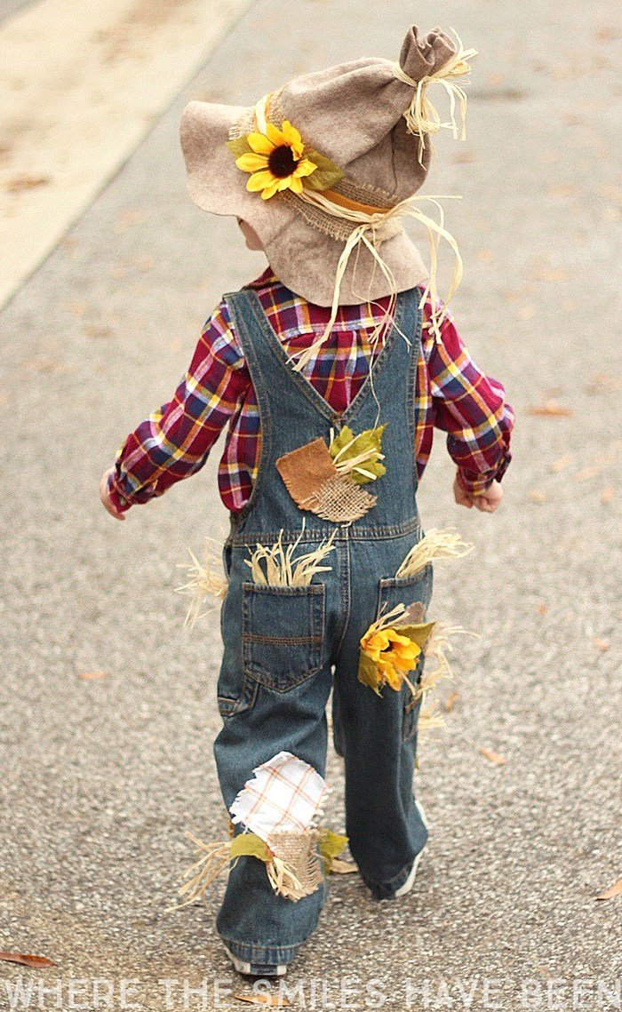 Homemade Kid Costumes- DIY Scarecrow