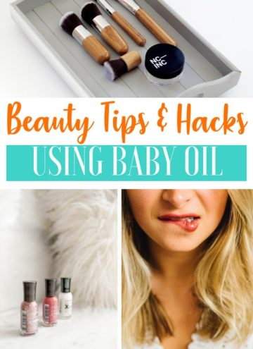 Beauty Tips and Hacks For Baby Oil