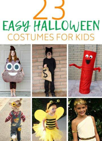 23 Easy Halloween Costumes for Kids