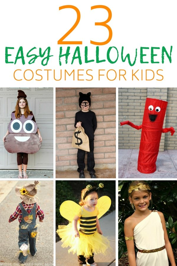 Easy Halloween Costumes for Kids, kids costumes, halloween costumes, kids Halloween costumes , diy costumes, scary costumes