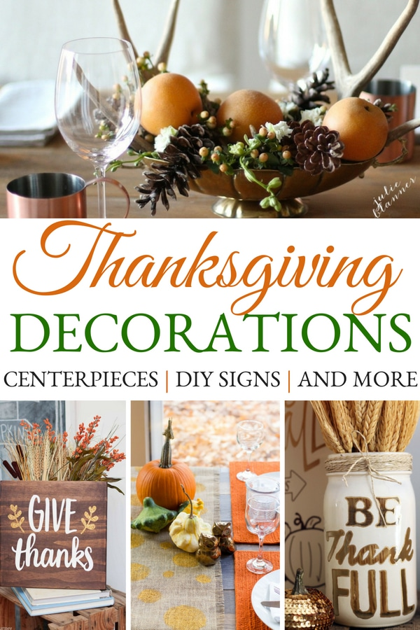 DIY Thanksgiving Decorations To Dress Up Your Home