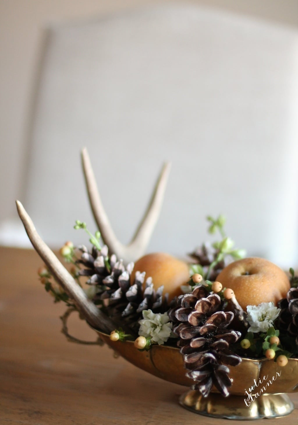Thanksgiving Decorations - 5 Minute Thanksgiving Centerpiece