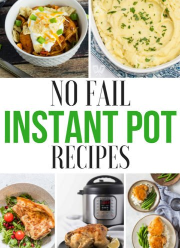 20 No Fail Instant Pot Recipes