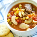 Easy Beef Vegetable Soup Recipe