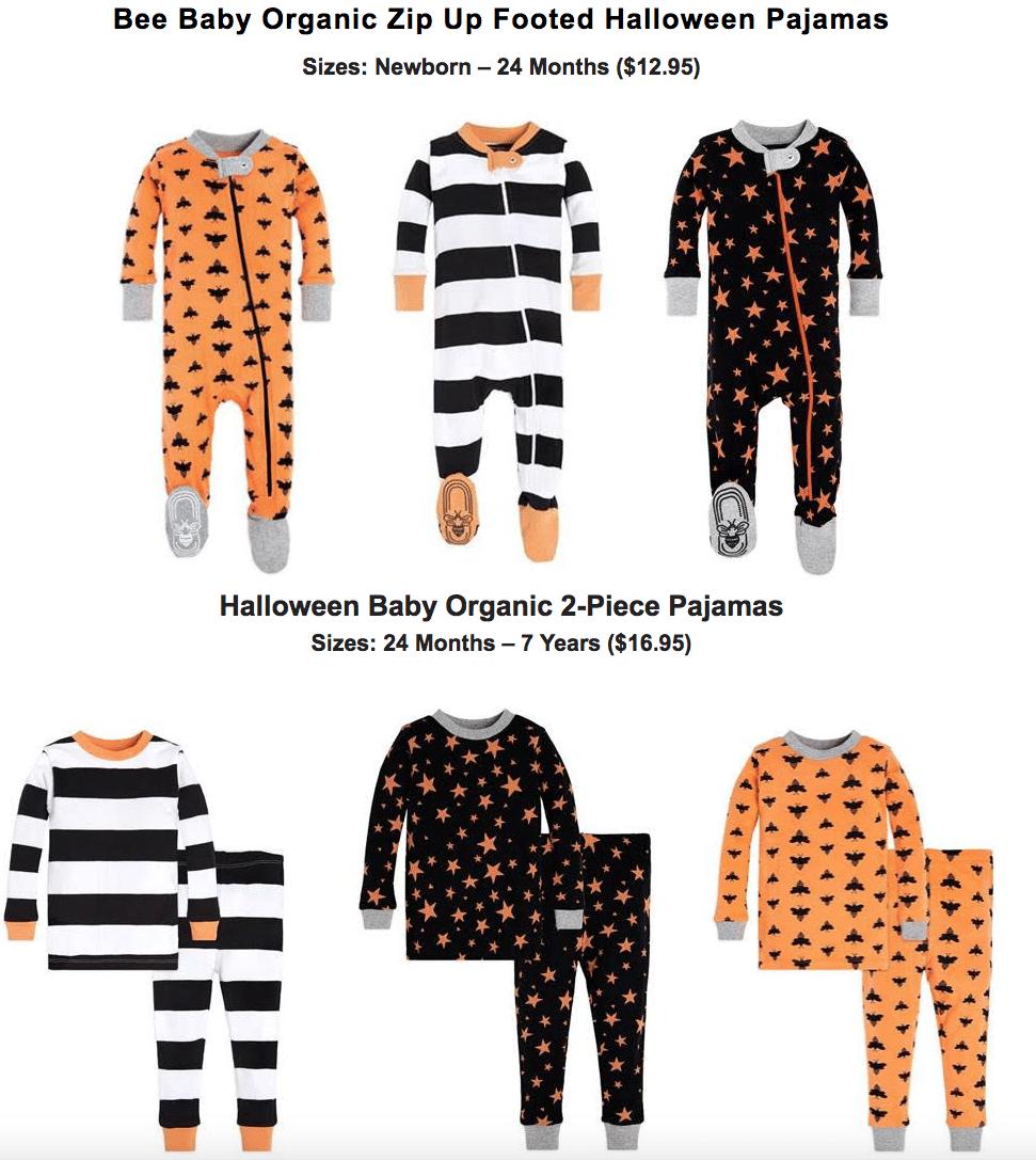 burt's bees baby + kids new halloween jammies - all things mamma