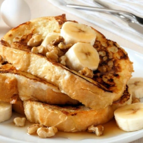 Learn how to make the best french toast recipe each and every time with these tips and tricks to never make boring, soggy french toast again!