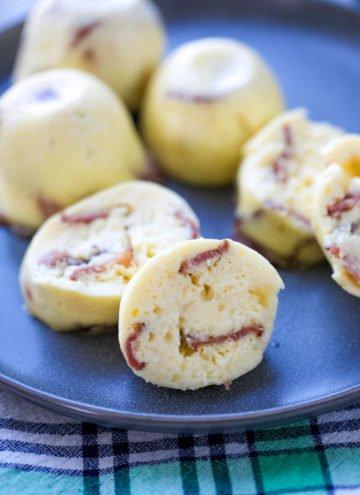 Bacon & Gruyere Sous Vide Egg Bites