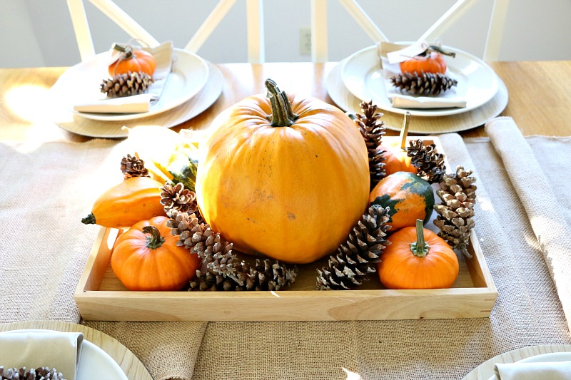 15 Easy DIY Thanksgiving Decorations! With a few craft supplies, you can transform your home into a warm and inviting environment and greets your guests with holiday spirit with these DIY Thanksgiving Decorations!