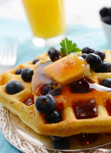 Secrets to Making The Very Best Waffles! Learn how to make the best homemade waffles with these tips and tricks! Plus answers to commonly asked questions about making waffles. #waffles #easywafflerecipe #breakfast #brunch #homemadewaffles #allthingsmamma | allthingsmamma.com