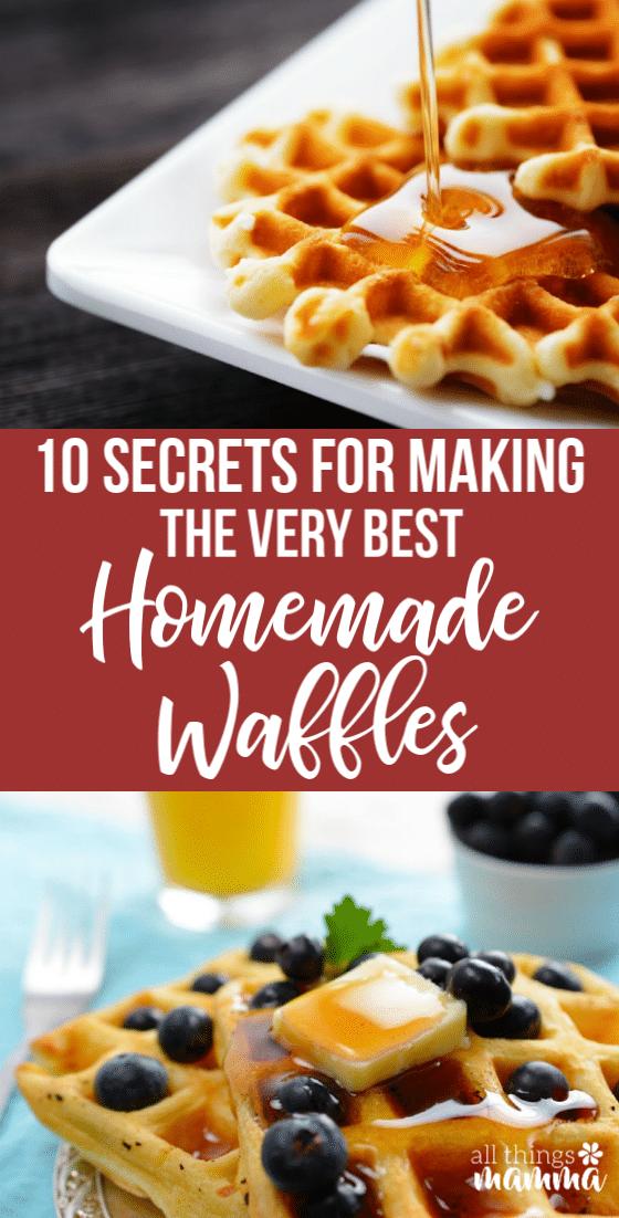 Waffle Recipe Secrets