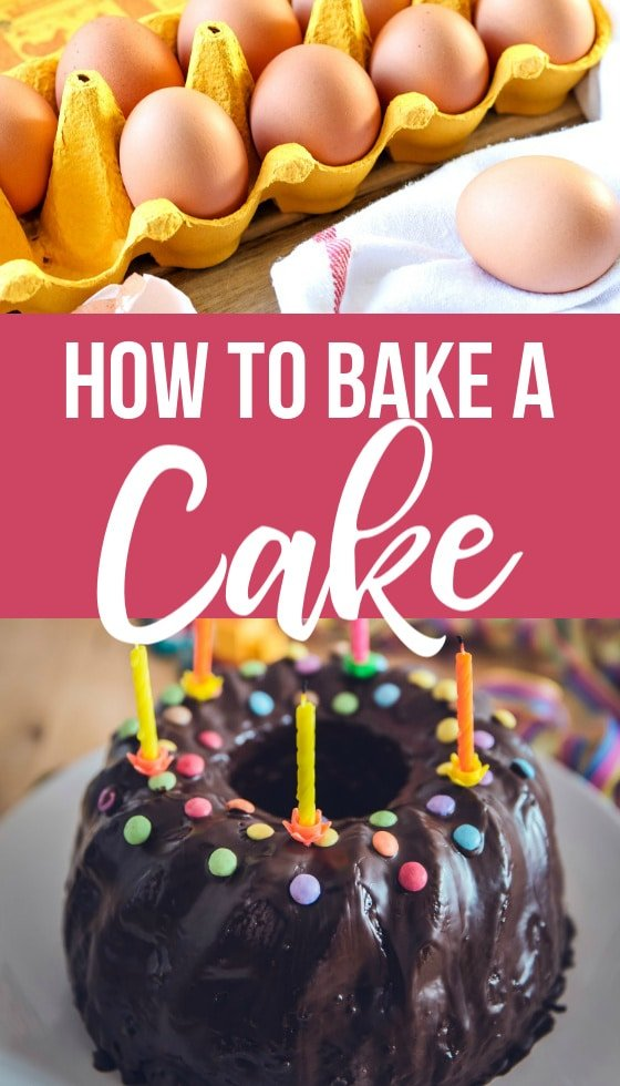 how to bake a cake