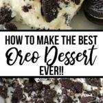How To Make THE BEST No-Bake Oreo Dessert EVER