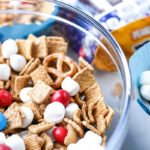 Red White and Blue Trail Mix Recipe - A Patriotic Snack