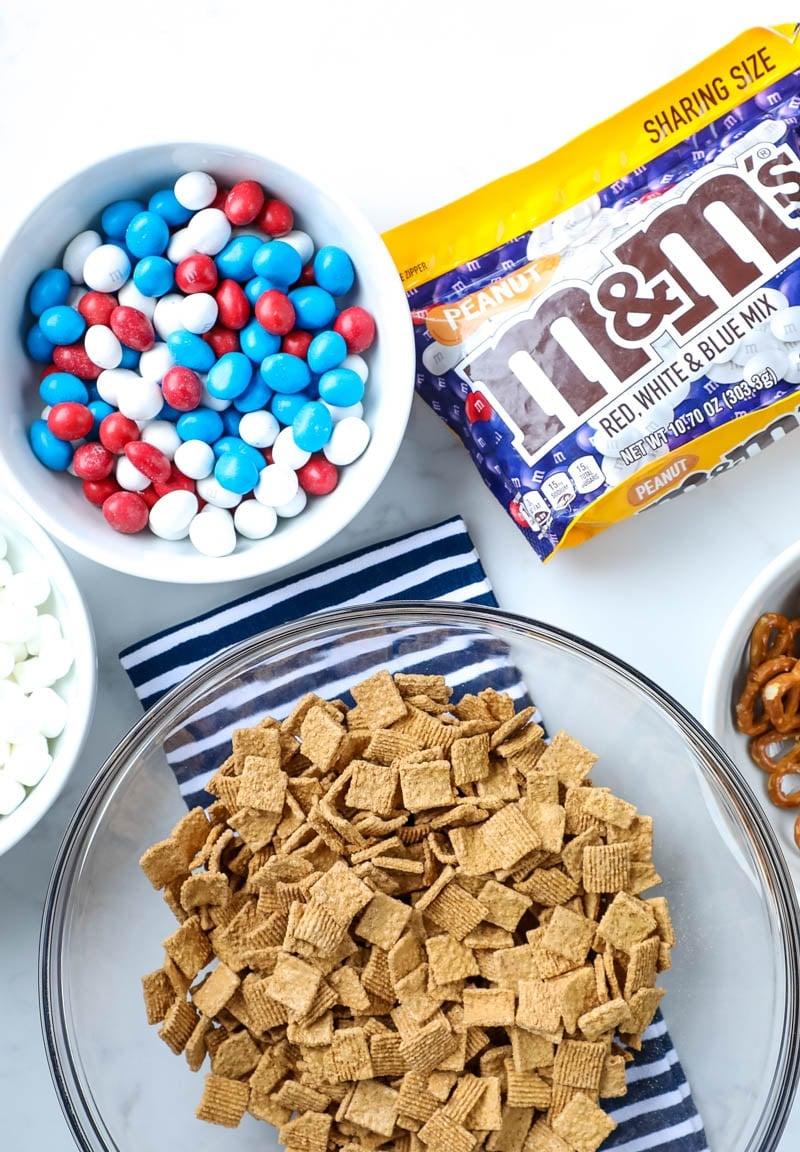 snack mix ingredients