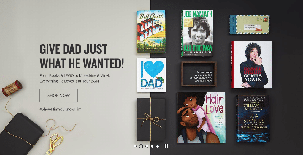 Father's Day Gifts at Barnes & Noble