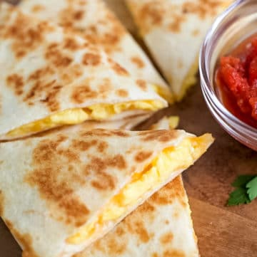 Quick & Easy Breakfast Quesadillas