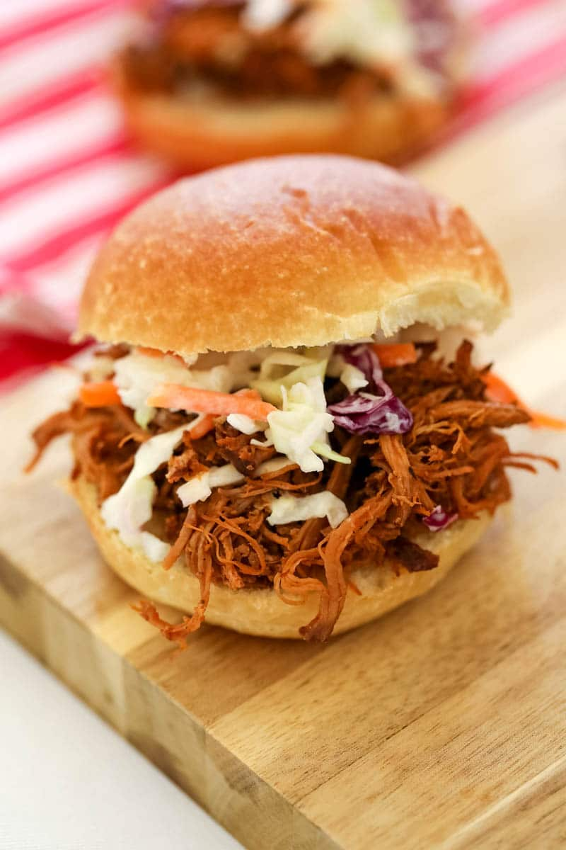 crock pot pulled pork sandwich recipe