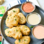 Raised & Rooted Plant-Based Nuggets with Gourmet-Style Dipping Sauce