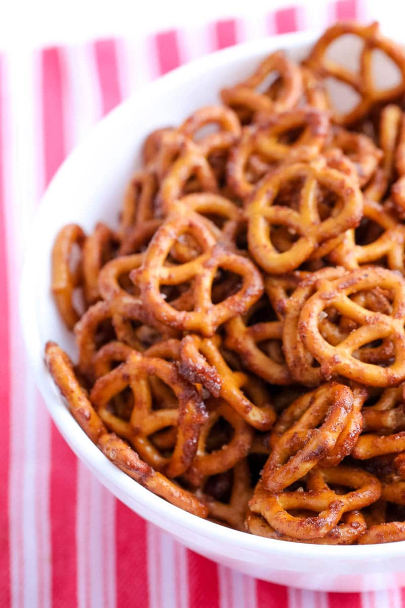 bourbon pretzels