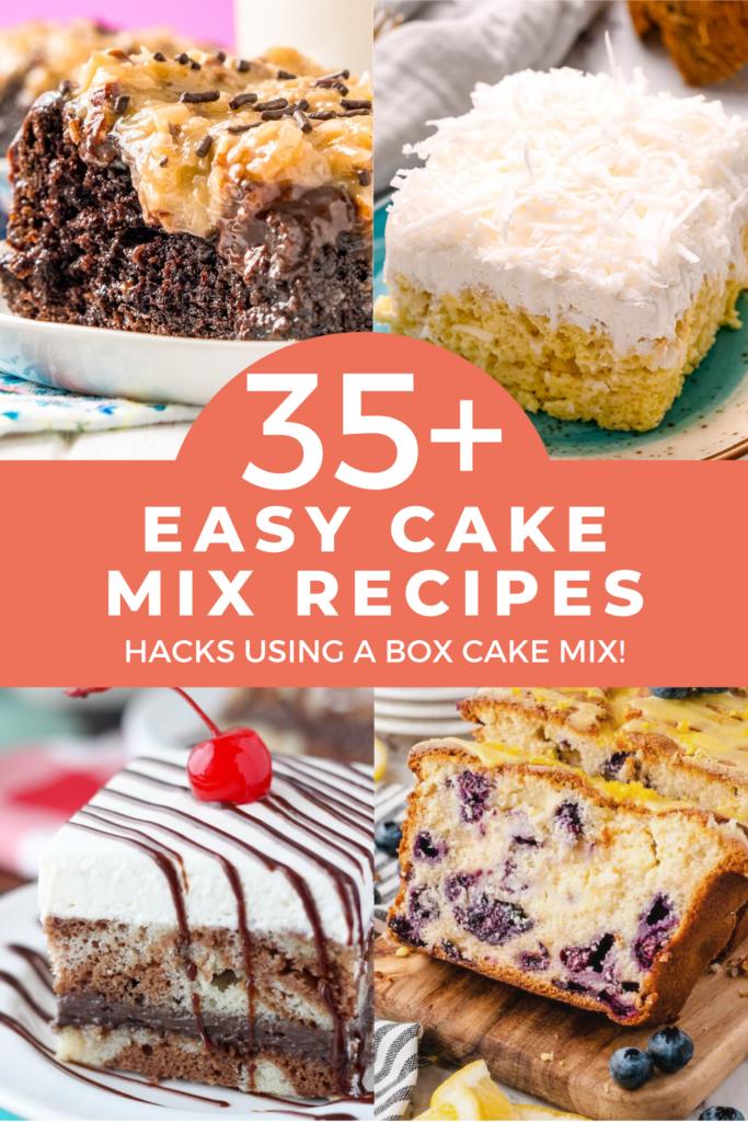 35+ Easy Cake Mix Recipes – Hacks Using A Box Cake Mix