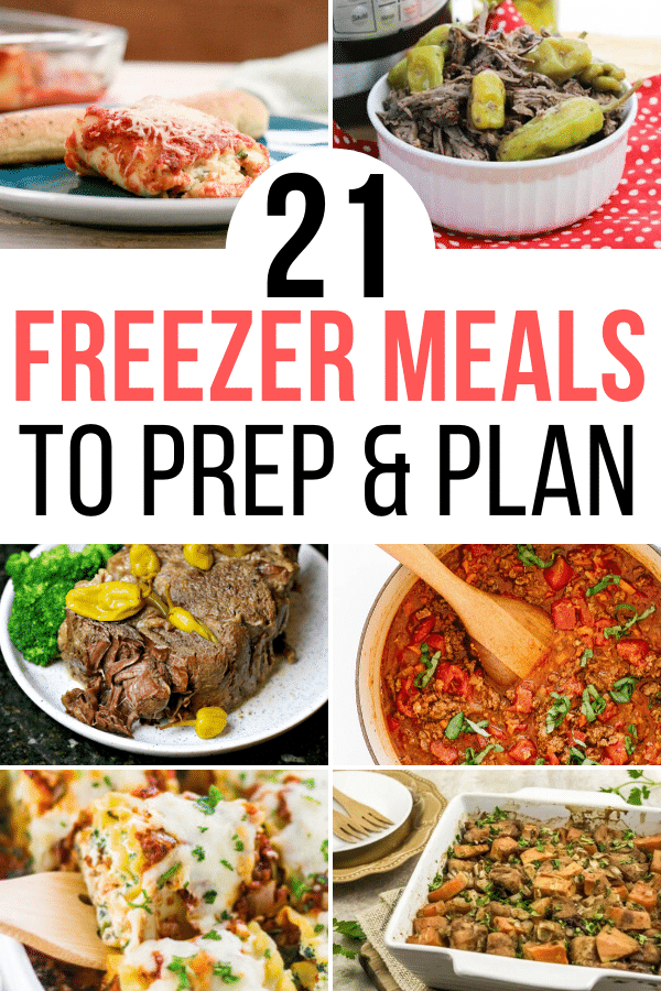 freezer meals to prep and plan