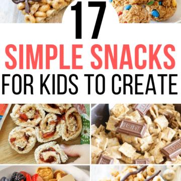 simple snacks for kids