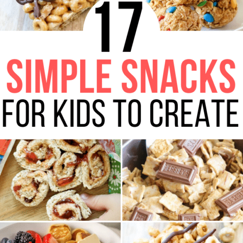 simple snacks for kids