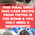 This Viral Oreo Mug Cake Recipe From TikTok is THE BOMB & You Only Need 2-Ingredients!