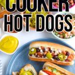crock pot hot dogs
