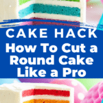 This is The Best Way To Cut A Round Cake For A Crowd