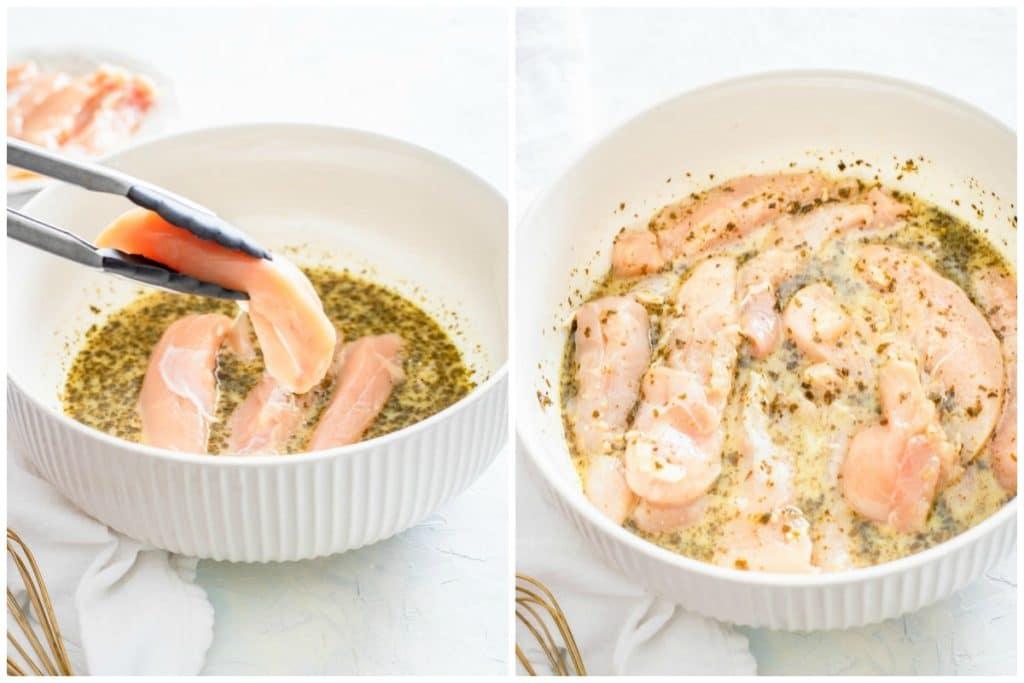 marinated chicken tenders