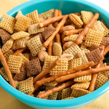 easy homemade Chex mix oven