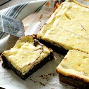 cream cheese brownies recipe