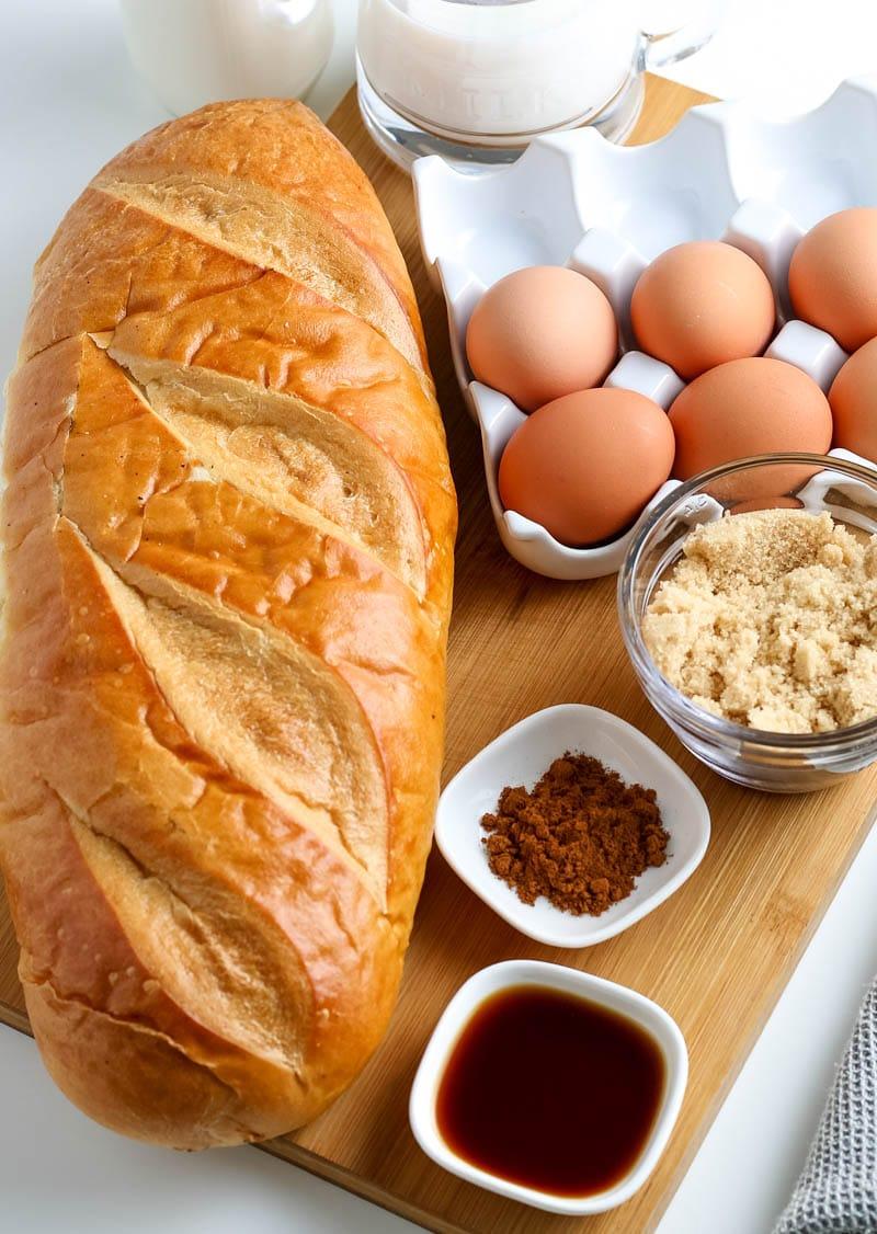 baked French toast casserole recipe
