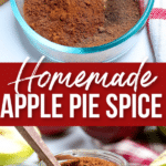 How to Make Apple Pie Spice