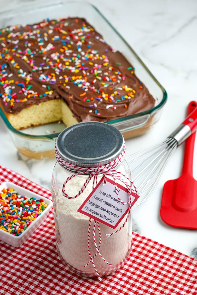 homemade cake mix