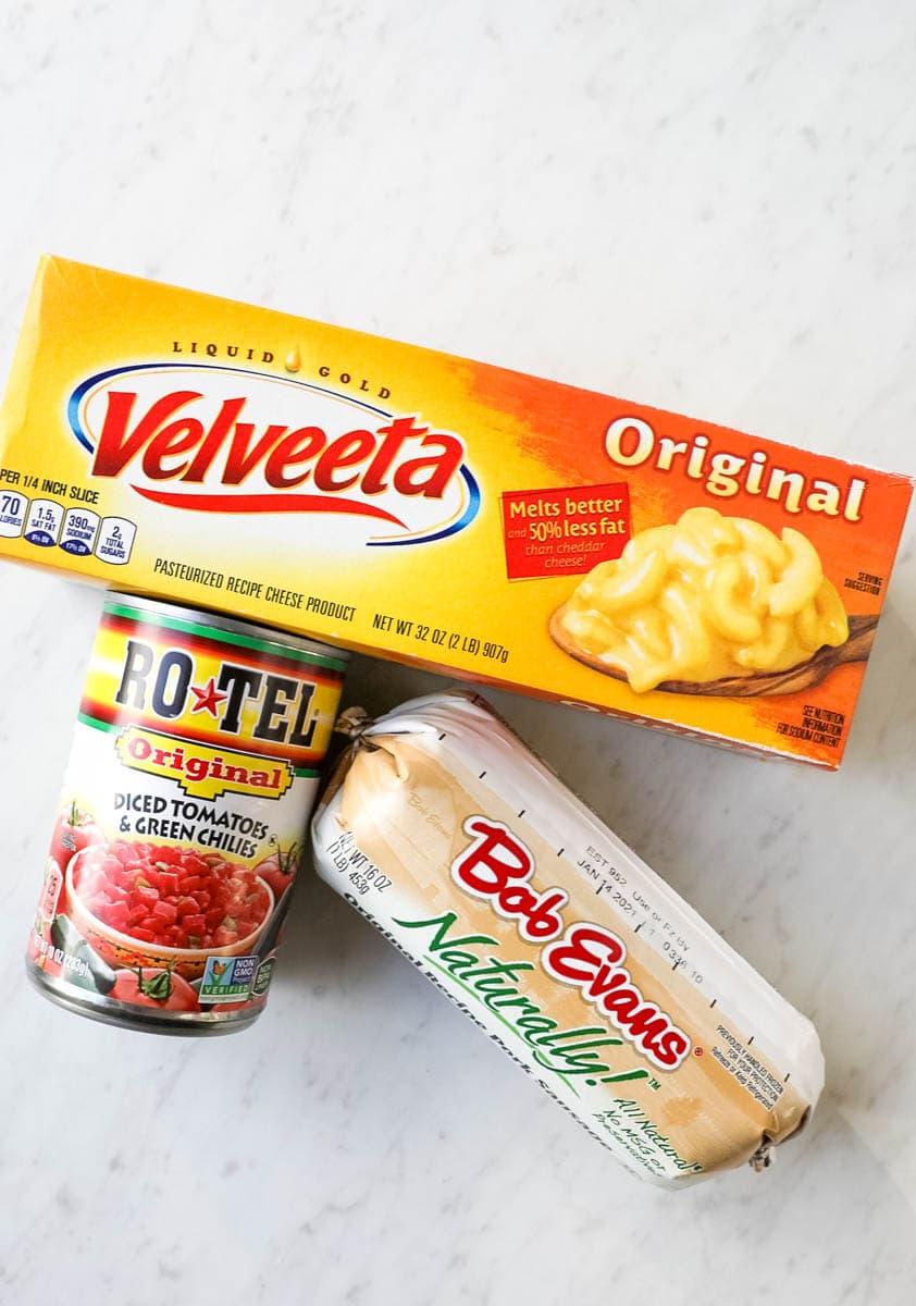 rotel dip ingredients