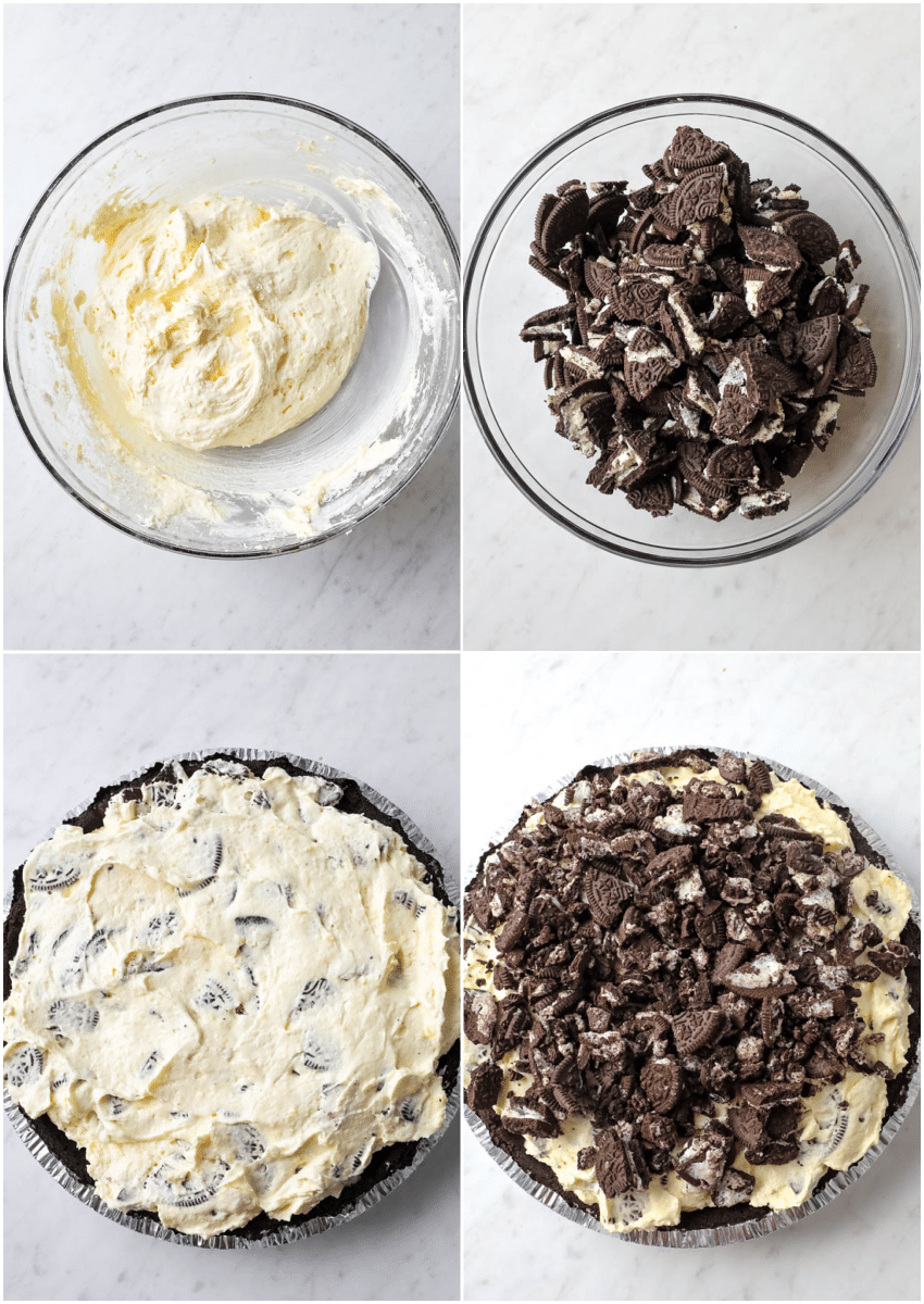 how to images for making oreo pie
